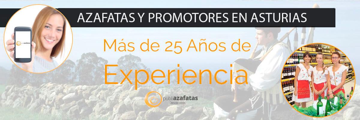 Azafatas en Asturias