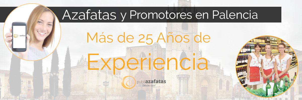 Azafatas y promotoras en Palencia