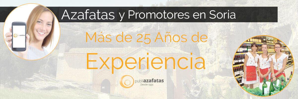 Azafatas y promotoras en Soria