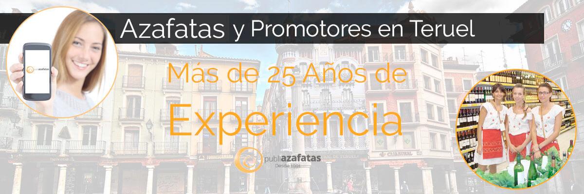Azafatas y promotoras en Teruel.