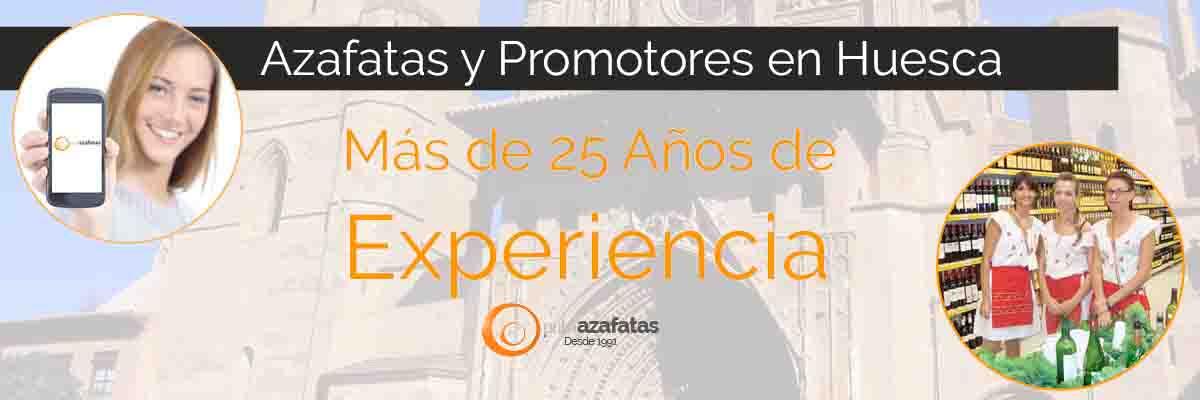 Azafatas y promotoras en Huesca