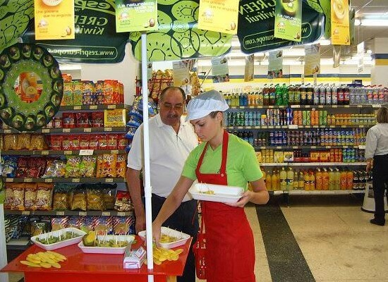 Acciones en supermercado en Mijas