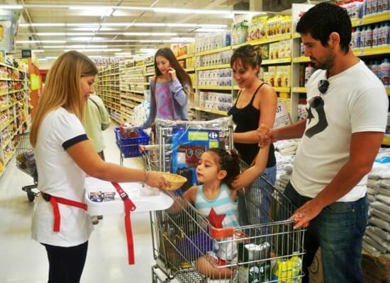 Acciones en supermercados en Tarazona