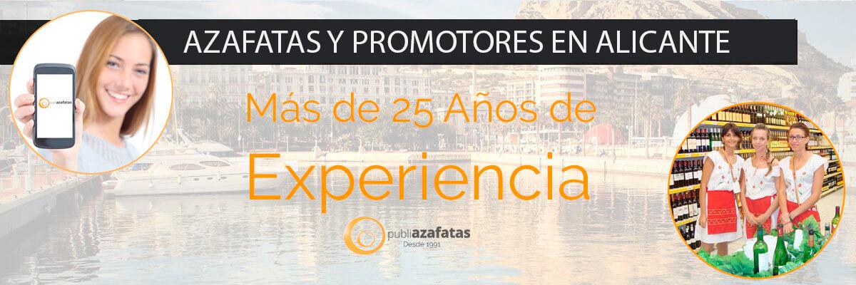 Azafatas en Alicante