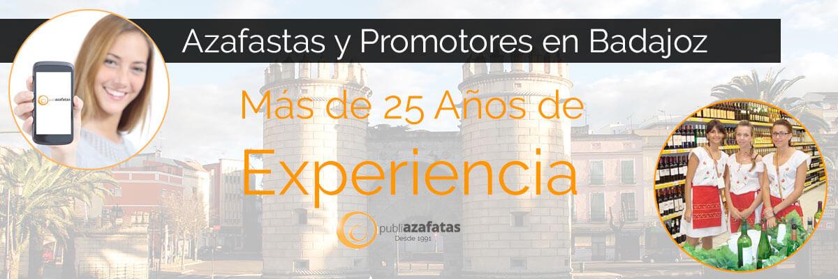 Azafatas en Badajoz