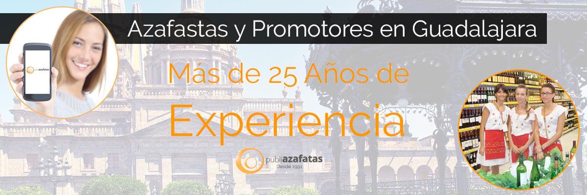 Azafatas y promotoras en Guadalajara