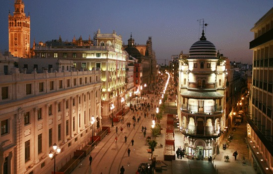 Sampling en el centro de Sevilla