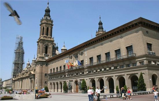 Sampling en el centro de Zaragoza