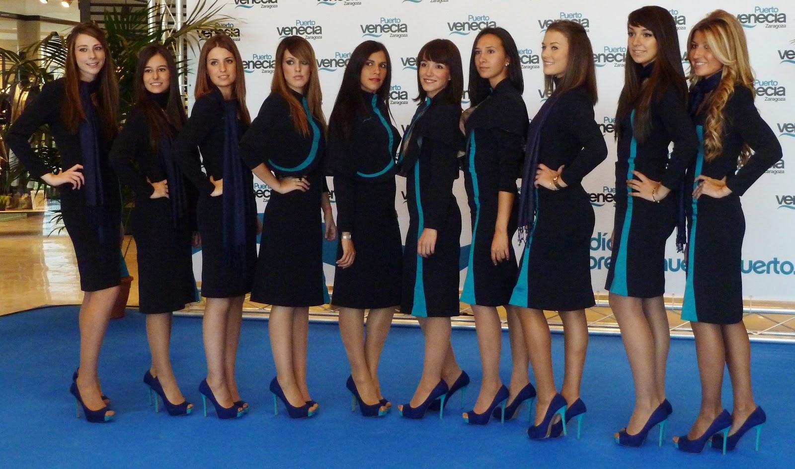 La importancia de la vestimenta de las azafatas y promotoras